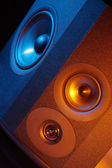 Speaker, Loudspeaker — Stock Photo