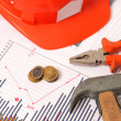 Stock Photo: Housebuilding and renovation graphics