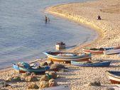 рыбацкие лодки — Стоковое фото