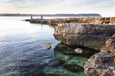Malta overlooking gozo — Stock Photo