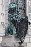 Lion symbol — Stock Photo