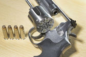 Pistole Revolver Gun — Stock Photo