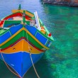 Fischerboot Malta — Stock Photo
