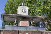 Delacorte Clock Central Park New York — Stock Photo