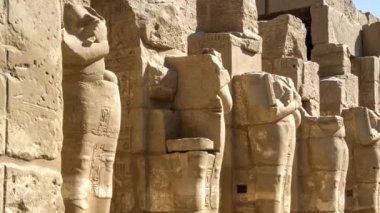 Templo de karnak — Vídeo de Stock