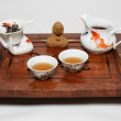 Chinese tea ceremony table — Stock Photo #20793665