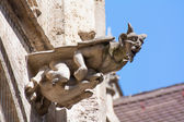 Neogothic gargoyle — Stock Photo