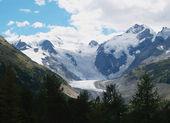 Amazing glacier — Stock Photo