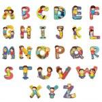 Alphabet — Stock Vector #10032124