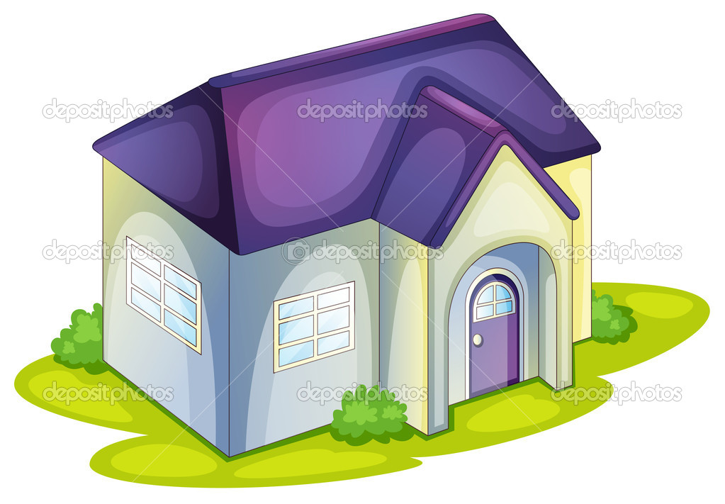 房子手绘pop