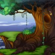 Tree hollow - Imagen vectorial