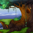 Tree hollow -  
