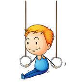 活跃的孩子 — 图库矢量图片