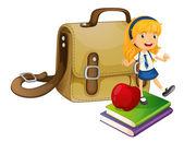 School concept — Stock Vector
