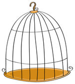 Cage — Stock Vector