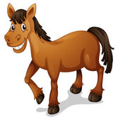 Horse cartoon — Stock Vector