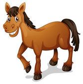 Horse cartoon — Stock Vector