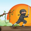 Royalty-Free Stock Vector Image: Thief