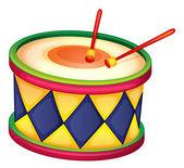 Um tambor — Vetorial Stock