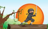 Thief — Stock Vector