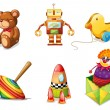 Various toys — Stock Vector #12870742