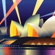 Sydney Opera House — Stock Vector