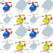 Helicopters - Stock Vector