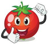 Tomato — Vector de stock