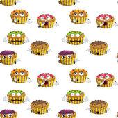 Cake — Vector de stock