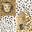 Royalty-Free Stock Imagen vectorial: Cheetah
