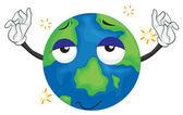 Earth planet — Stock Vector