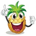 Pineapple — Stock Vector #13597084