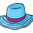 Stock Vector: Hat