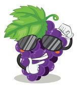 Grapes — Stock Vector