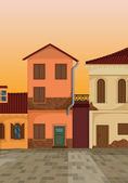 House colony — Stock Vector