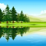 Beautiful landscape — Stock Vector #13844192
