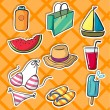 Various objects — Stock Vector