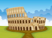 Colosseum, Italy — Stock Vector