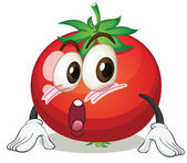 An apple — Stock Vector