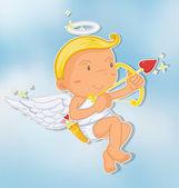 An angel — Stock Vector