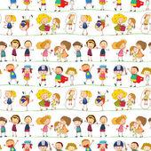 A kids — Stock Vector