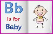 A baby — Stock Vector