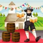 Oktoberfest in Germany — Stock Vector #13925357