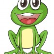 Simple frog — Stock Vector #13925370