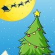 Kerstboom — Stockvector #13994964