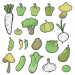 Various vegetables - Stock Vector