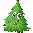 Christmas tree — Vector de stock #14036476