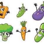 Various vegetables — Stock Vector #14036583