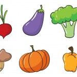 Various vegetables — Stock Vector #14040112