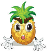 A pineapple — Stock Vector